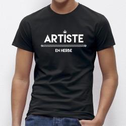 T-shirt original Artiste en Herbe