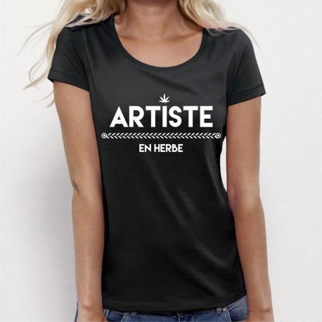 Tee shirt Artiste en herbe