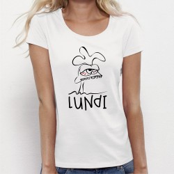 Tee shirt original LUNDI