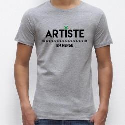 Artiste en herbe t-shirt homme