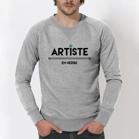 ARTISTE EN HERBE SWEAT POUR HOMME