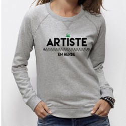 SWEAT ARTISTE EN HERBE