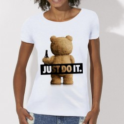 "T-shirt ted ""just do it"""