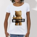 """T-shirt ted """"just do it"""""""